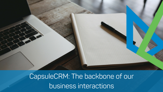 CapsuleCRM: The backbone of our business interactions